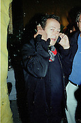 Joe Strummer. Damien Hirst opening reception and after party. Gagosian gallery and 118 10th Ave. New York. 23 September 2000.  © Copyright Photograph by Dafydd Jones 66 Stockwell Park Rd. London SW9 0DA Tel 020 7733 0108 www.dafjones.com