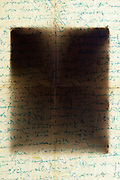 old handwritten letter with envelopeold handwritten letter with envelope