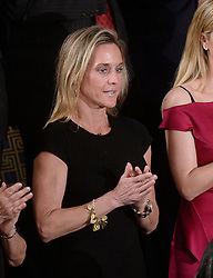 """Carryn Owens , the widow of fallen U.S. Navy SEAL William """"Ryan"""" Owens attends U.S. President Donald J. Trump first address to a Joint Session of Congress on Tuesday, February 28, 2017 at the Capitol in Washington, DC. Photo by Olivier Douliery/ Abaca"""