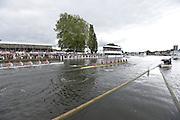 Henley, GREAT BRITAIN. Princess Elizabeth Challenge Cup. Abingdon School vs Radley College, pass through the Stewards Enclosure at 2012 Henley Royal Regatta...Sunday  15:58:11  01/07/2012. [Mandatory Credit, Peter Spurrier/Intersport-images]...Rowing Courses, Henley Reach, Henley, ENGLAND . HRR.