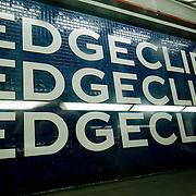 Edgecliff station. Sydney subway