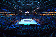General view inside the Arena during a doubles match at the Nitto ATP World Tour Finals at the O2 Arena, London, United Kingdom on 13 November 2018.Photo by Martin Cole