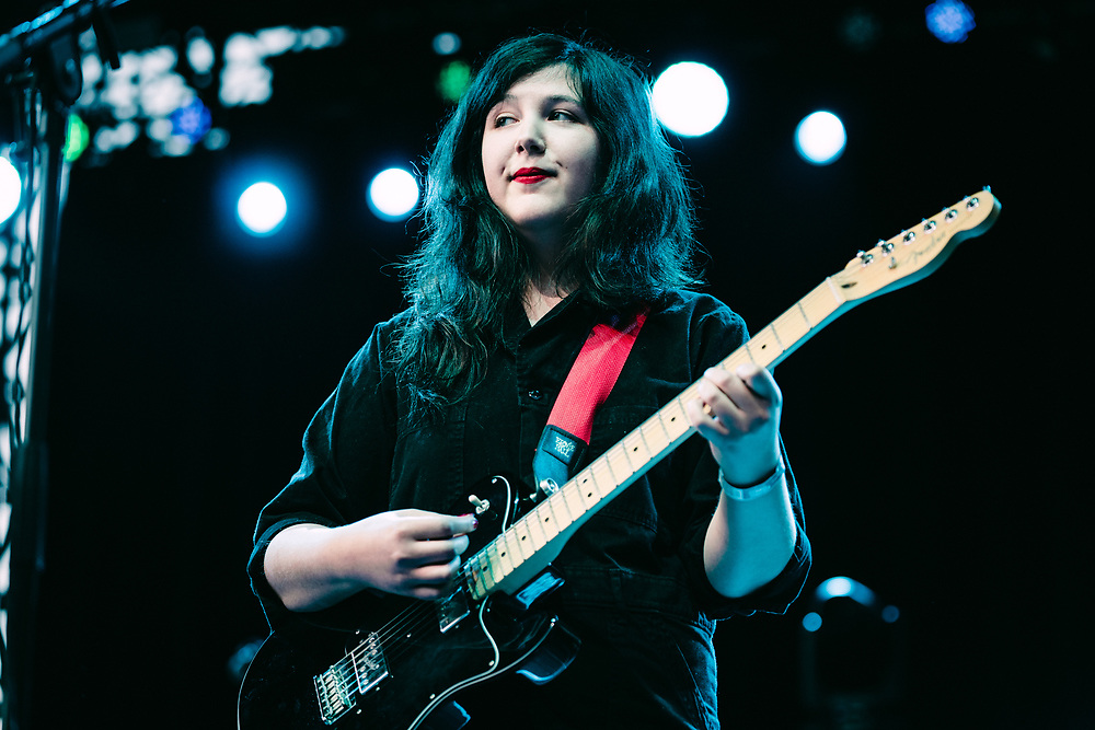 NEW YORK, NY/US - SEPTEMBER 07, 2019: Lucy Dacus performs onstage at SummerStage in Central Park in Manhattan. PHOTO CREDIT: Eric M. Townsend