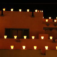 North America, USA, New Mexico. Luminerias