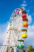 Ferris wheel at amusement park, Tibidabo, Barcelona