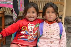 Young School Girls