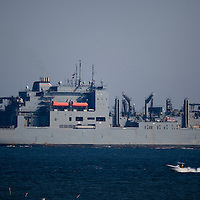 USS Lewis and Clark Stock Images