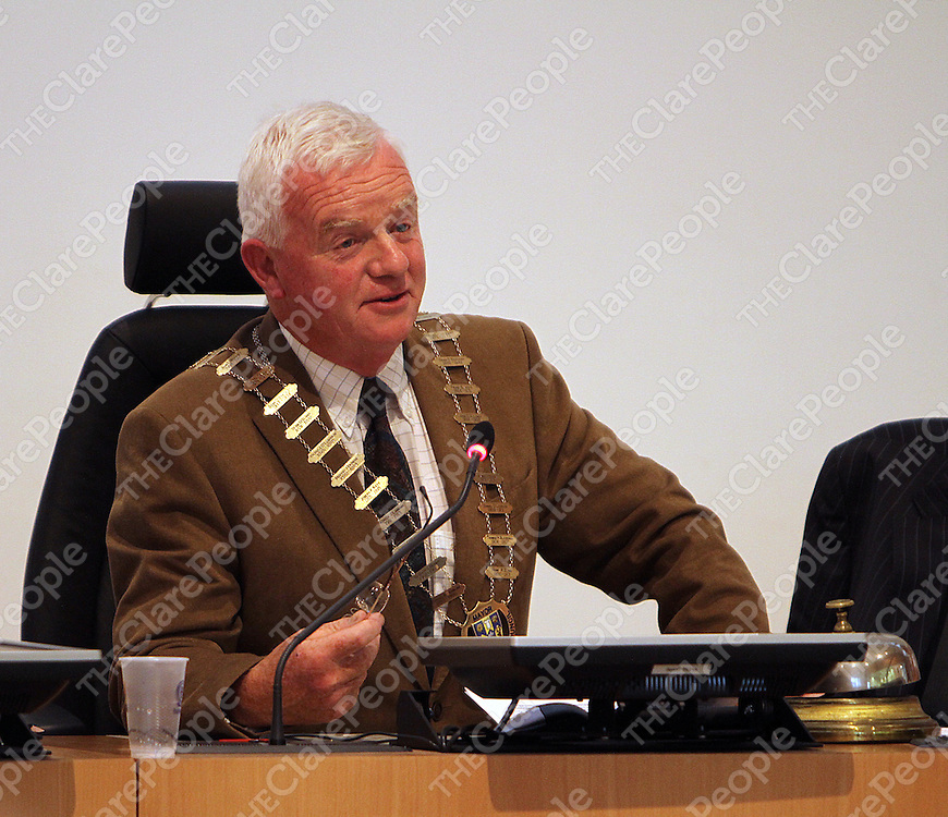 New Mayor of Clare Christy Curtin.<br /> Photograph by Yvonne Vaughan