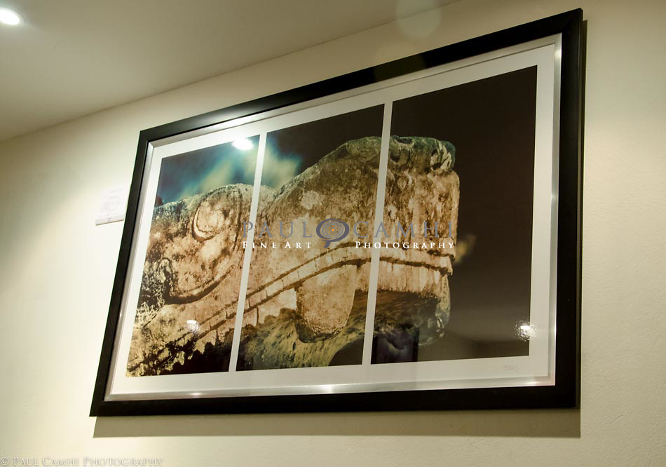 Kukulcán. 150 x 90 cm. Limited edition Fine Art Photography, pigment ink giclée print, dated and signed