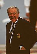 Bled, Slovenia, YUGOSLAVIA.   FISA President Tommy KELLER, 1989 World Rowing Championships, Lake Bled. [Mandatory Credit. Peter Spurrier/Intersport Images]
