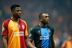 November 26, 2019, Galatasaray, Turkey: Galatasaray's Ryan Donk and Club's Lois Openda pictured during a game between Turkish club Galatasaray and Belgian soccer team Club Brugge, Tuesday 26 November 2019 in Istanbul, Turkey, fifth match in Group A of the UEFA Champions League. (Credit Image: © Bruno Fahy/Belga via ZUMA Press)