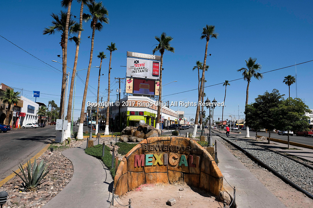Mexicali (the Mexico and US border), Mexico on Thursday April 20, 2017. (Xinhua/Zhao Hanrong)