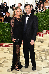 Jill Goodacre and Harry Connick Jr attending the Metropolitan Museum of Art Costume Institute Benefit Gala 2018 in New York, USA.