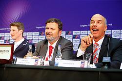 Varela Ullastres Santiago, (ESP), Madden John, (GBR)<br /> Longines FEI World Cup Jumping Final III B<br /> © Dirk Caremans
