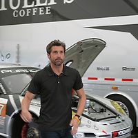 Patrick Dempsey during the Orion Energy Systems 245 - ALMS held at Road America,  Elkhart Lake, WI. on August 10, 2013.
