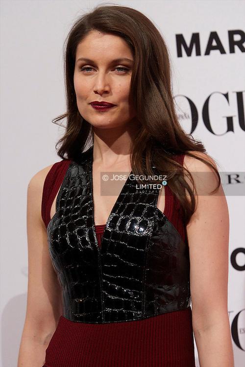 Laetitia Casta attends Vogue December Issue Launch Party at Palacio Fernan Nunez on 27 November, 2012 in Madrid