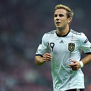 Germany's Mario GOTZE during their UEFA EURO 2012 Qualifying round Group A matchday 19 soccer match Turkey betwen Germany at TT Arena in Istanbul October 7, 2011. Photo by TURKPIX