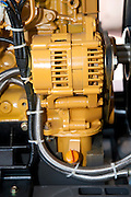 Close up of an air compressor