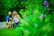 Beth and Corey Nash are photographed at Leroy Oakes Forest Preserve in St. Charles, Il. on Saturday, June 2nd. ©2018 Brian J. Morowczynski ViaPhotos