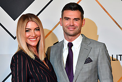 James Anderson and wife Daniella during the red carpet arrivals for the BBC Sports Personality of the Year 2018 at The Vox at Resorts World Birmingham.