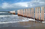 Coast near Burgh Haamstede, Netherlands.