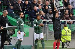 March 10, 2019 - Saint Etienne, France, FRANCE - Valentin Vada et Arnaud Nordin  (Credit Image: © Panoramic via ZUMA Press)