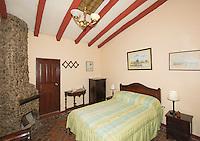 Guest room at San Jorge Eco-Lodge, Quito, Ecuador