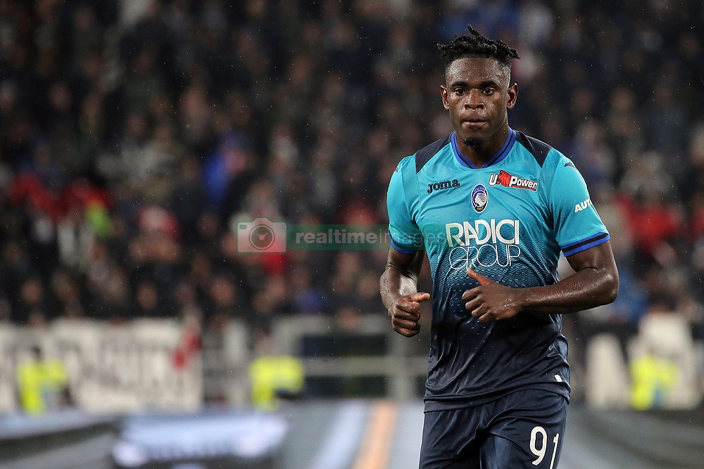 May 19, 2019 - Turin, Turin, Italy - Duvan Zapata #91 of Atalanta BC looks on during the serie A match between Juventus FC and Atalanta BC at Allianz Stadium on May 19, 2019 in Turin, Italy. (Credit Image: © Giuseppe Cottini/NurPhoto via ZUMA Press)