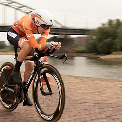 28-08-2018: Wielrennen: Ladies Tour: Arnhem<br /> Anna van der Breggen eindigt als tweede in de proloog Boels Ladies Tour