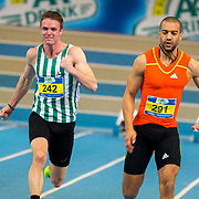 NLD/Apeldoorn/20180217 - NK Indoor Athletiek 2018, 60 meter heren, Leon ten Klooster en Patrick van Luijk