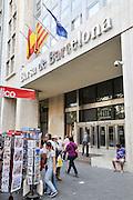 The Barcelona Stock Exchange, Spain