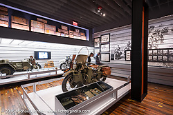 Display at the Harley-Davidson Museum during the Milwaukee Rally. Milwaukee, WI, USA. Saturday, September 3, 2016. Photography ©2016 Michael Lichter.