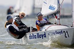 08_01046 © Sander van der Borch. Medemblik - The Netherlands,  May 21th 2008 . First day of the Delta Lloyd Regatta 2008.