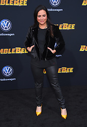 December 9, 2018 - Hollywood, California, U.S. - Pamela Adlon arrives for the premiere of the film 'Bumblebee' at the Chinese theater. (Credit Image: © Lisa O'Connor/ZUMA Wire)