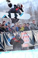 The Arctic Challenge/Halfpipe - FINALS/Tromsø/31032004:<br /> Christof Schmidt - GER<br /> FOTO: KAJA BAARDSEN/DIGITALSPORT
