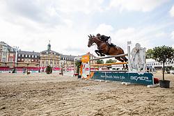 LÜNEBURG Nisse (GER), CORDILLO 3<br /> Münster - Turnier der Sieger 2019<br /> Preis des EINRICHTUNGSHAUS OSTERMANN, WITTEN<br /> CSI4* - Int. Jumping competition  (1.45 m) - <br /> 1. Qualifikation Mittlere Tour<br /> Medium Tour<br /> 02. August 2019<br /> © www.sportfotos-lafrentz.de/Stefan Lafrentz