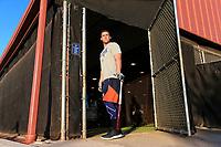 Houston Astros George Springer during  spring training <br /> <br /> ( Photo/Tom DiPace for Nike Baseball)