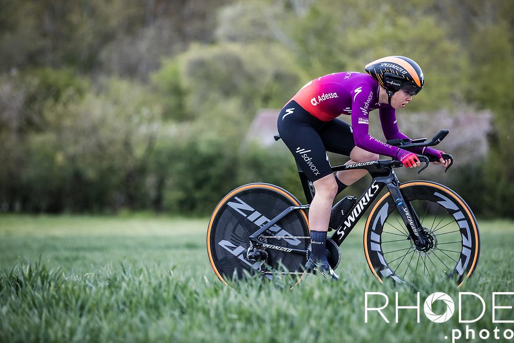 Lonneke Uneken (NED/SDWorx)<br /> <br /> Ceratizit Festival Elsy Jacobs (LUX) 2021<br /> UCI Women Elite 2.1<br /> Day 1 - prologue : Individual Time Trial (ITT) – Cessange (LUX) 2.2km <br /> <br /> ©RhodePhoto