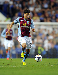 "Aston Villa's Aleksander Tonev makes his Aston Villa Debut  - Photo mandatory by-line: Joe Meredith/JMP - Tel: Mobile: 07966 386802 21/08/2013 - SPORT - FOOTBALL - Stamford Bridge - London - Chelsea V Aston Villa - Barclays Premier League - EDITORIAL USE ONLY. No use with unauthorised audio, video, data, fixture lists, club/league logos or ""live"" services. Online in-match use limited to 45 images, no video emulation. No use in betting, games or single club/league/player publications"