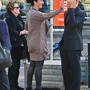 NLD/Utrecht/20100925 - NFF 2010, pemiere de Leugen, Femke Halsema en partner regisseur Robert Oey