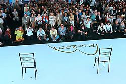 Platéia aguarda o início dos shows durante o 20 Congresso Mundial da Intercoiffure - ICD Rio 2008, que acontece de 18 a 20 de maio, no hotel Intercontinental, no Rio de Janeiro . FOTO: Jefferson Bernardes / Preview.com