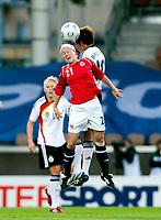 Fotball<br /> EM 2009 kvinner<br /> Semifinale<br /> Tyskland v Norge<br /> Foto: Jussi Eskola/Digitalsport<br /> NORWAY ONLY<br /> <br /> Lene Storløkken