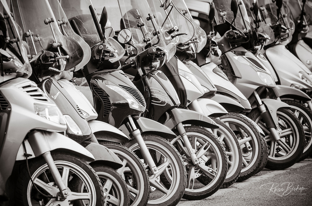 Scooters, Florence, Tuscany, Italy