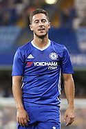 Chelsea attacker Eden Hazard (10) walking off pitch during the EFL Cup match between Chelsea and Bristol Rovers at Stamford Bridge, London, England on 23 August 2016. Photo by Matthew Redman.