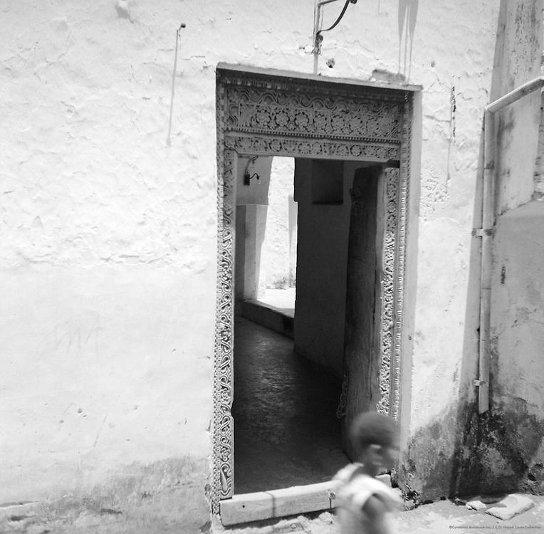 Covered Doorway, Zanzibar, Tanganyika (now Tanzania), Africa, 1937