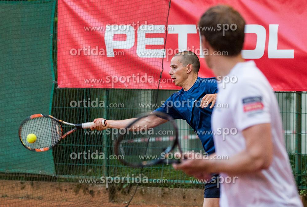 Blaz Jakic and Uros Mesojedec at Petrol VIP tournament 2018, on May 24, 2018 in Sports park Tivoli, Ljubljana, Slovenia. Photo by Vid Ponikvar / Sportida