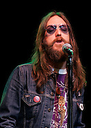 (Tribune Photo/SANTIAGO FLORES)<br /> Chris Robinson of the Black Crowes performs Tuesday night at the Morris Performing Arts Center in South Bend.