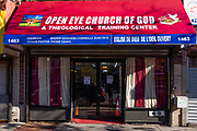 Open Eye Church of God & Theological Training Center, 1463 Flatbush Avenue, Brooklyn.