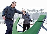 ZEIST - Golfprofessional Marco Dijkema van Golf Club Schaerweijde in Zeist. FOTO KOEN SUYK