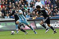 Photo: Steve Bond/Richard Lane Photography.<br />Coventry City v Chelsea. FA Cup 6th Round. 07/03/2009. Leon Best (front) bursts past Jon Obi Mikel